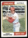 1974 Topps #357  Buddy Bradford  Front Thumbnail