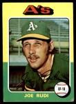 1975 Topps #45  Joe Rudi  Front Thumbnail
