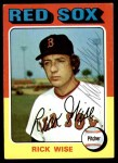 1975 Topps #56  Rick Wise  Front Thumbnail