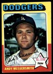 1975 Topps #440  Andy Messersmith  Front Thumbnail