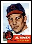 1953 Topps Archives #135  Al Rosen  Front Thumbnail