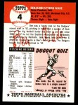 1991 Topps 1953 Archives #4  Ben Wade  Back Thumbnail
