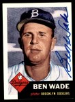 1991 Topps 1953 Archives #4  Ben Wade  Front Thumbnail