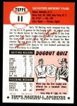 1991 Topps 1953 Archives #11  Sal Yvars  Back Thumbnail