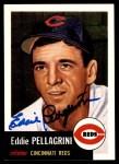 1991 Topps 1953 Archives #28  Eddie Pellagrini  Front Thumbnail