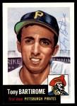 1991 Topps 1953 Archives #71  Tony Bartirome  Front Thumbnail