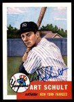 1953 Topps Archives #167  Art Schult  Front Thumbnail