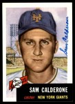1953 Topps Archives #260  Sammy Calderone  Front Thumbnail
