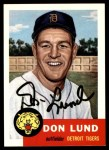1953 Topps Archives #277  Don Lund  Front Thumbnail