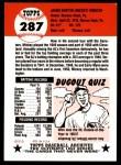 1953 Topps Archives #287  Mickey Vernon  Back Thumbnail