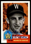 1953 Topps Archives #287  Mickey Vernon  Front Thumbnail