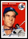 1954 Topps Archives #130  Hank Bauer  Front Thumbnail