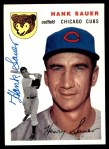 1994 Topps 1954 Archives #4  Hank Sauer  Front Thumbnail
