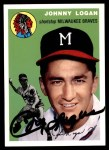 1954 Topps Archives #122  Johnny Logan  Front Thumbnail