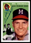 1994 Topps 1954 Archives #12  Del Crandall  Front Thumbnail