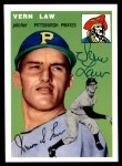 1954 Topps Archives #235  Vern Law  Front Thumbnail