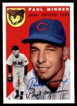 1994 Topps 1954 Archives #28  Paul Minner  Front Thumbnail