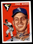 1954 Topps Archives #218  Fred Marsh  Front Thumbnail
