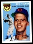 1954 Topps Archives #229  Bob Talbot  Front Thumbnail