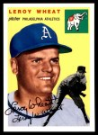 1954 Topps Archives #244  Leroy Wheat  Front Thumbnail
