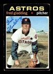 1971 Topps #381  Fred Gladding  Front Thumbnail