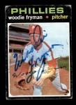 1971 Topps #414  Woodie Fryman  Front Thumbnail