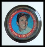 1971 Topps Coins #114  Brooks Robinson  Front Thumbnail