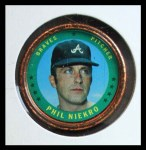 1971 Topps Coins #37  Phil Niekro  Front Thumbnail
