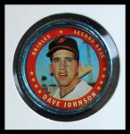 1971 Topps Coins #2  Davey Johnson  Front Thumbnail