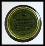 1971 Topps Coins #16  Luis Aparicio  Back Thumbnail