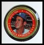 1971 Topps Coins #16  Luis Aparicio  Front Thumbnail