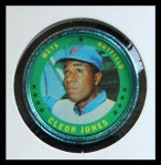 1971 Topps Coins #103  Cleon Jones  Front Thumbnail