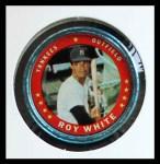 1971 Topps Coins #34  Roy White  Front Thumbnail