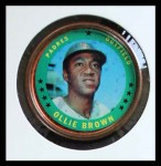 1971 Topps Coins #133  Ollie Brown  Front Thumbnail