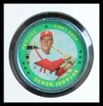 1971 Topps Coins #79  Deron Johnson  Front Thumbnail