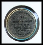 1971 Topps Coins #71  Roberto Clemente  Back Thumbnail