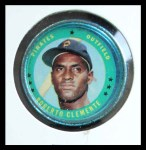 1971 Topps Coins #71  Roberto Clemente  Front Thumbnail