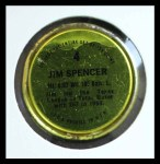 1971 Topps Coins #4  Jim Spencer  Back Thumbnail