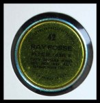 1971 Topps Coins #42  Ray Fosse  Back Thumbnail