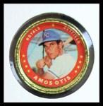 1971 Topps Coins #96  Amos Otis  Front Thumbnail
