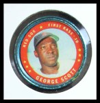 1971 Topps Coins #98  George Scott  Front Thumbnail