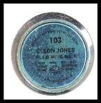1971 Topps Coins #103  Cleon Jones  Back Thumbnail