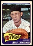 1965 Topps #299  Jerry Zimmerman  Front Thumbnail