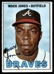 1967 Topps #435  Mack Jones  Front Thumbnail