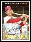 1967 Topps #595  Cookie Rojas  Front Thumbnail