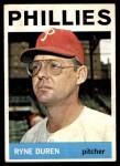 1964 Topps #173  Ryne Duren  Front Thumbnail