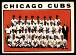 1964 Topps #237   Cubs Team Front Thumbnail