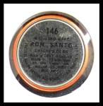 1964 Topps Coins #146   -   Ron Santo All-Star Back Thumbnail