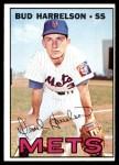 1967 Topps #306  Bud Harrelson  Front Thumbnail