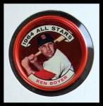 1964 Topps Coins #145   -   Ken Boyer All-Star Front Thumbnail